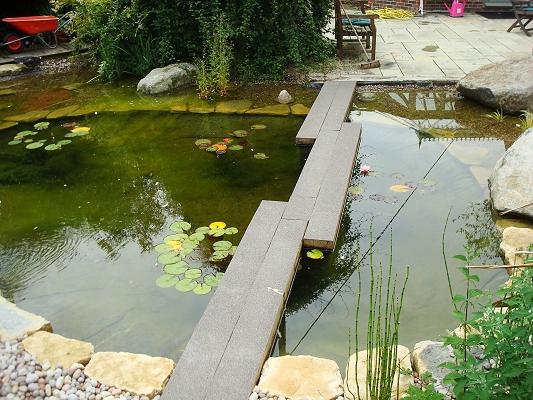 Pond design hampshire pond landscaping pond design for Water garden construction